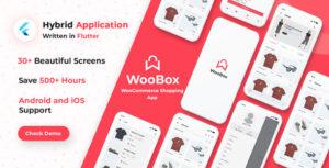 WooBox - Flutter WooCommerce Mobile  App