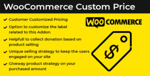 WooComerce Custom Price