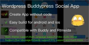 Wordpress Buddypress Social App