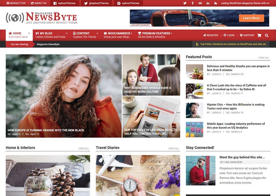 Magazine News Byte