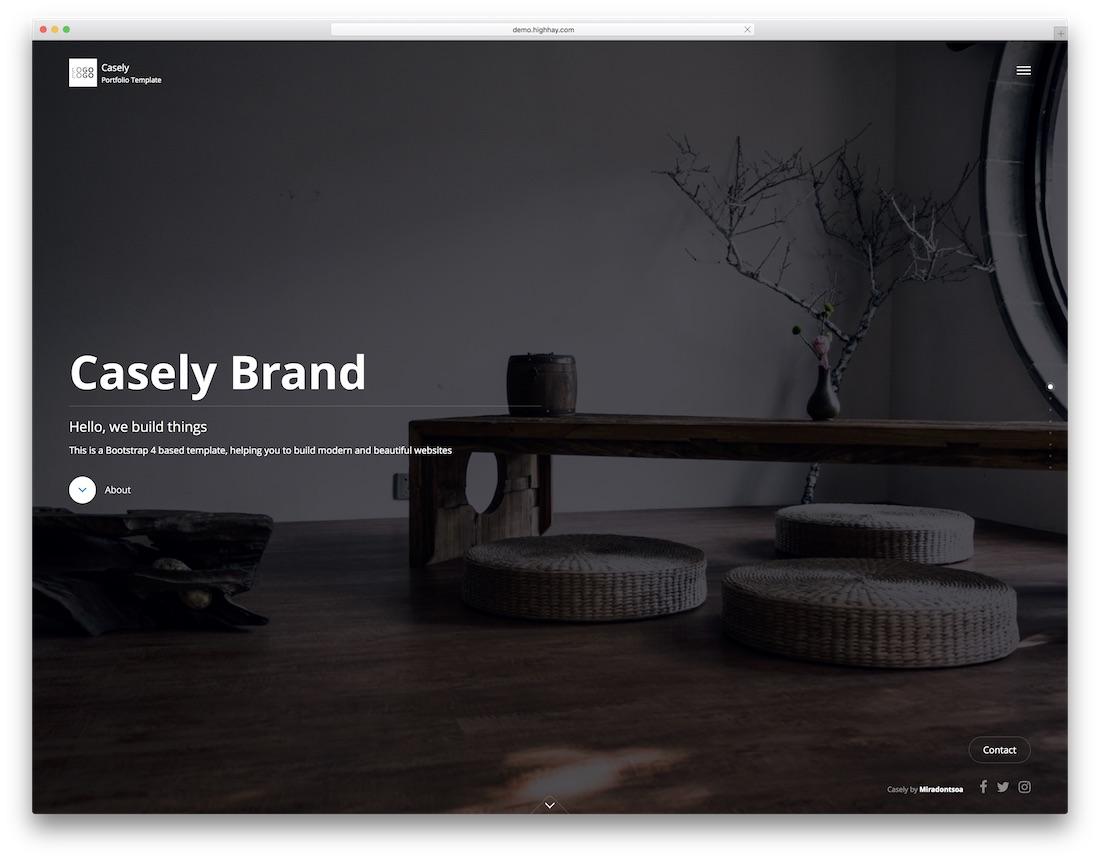 modèle de site Web de conception graphique