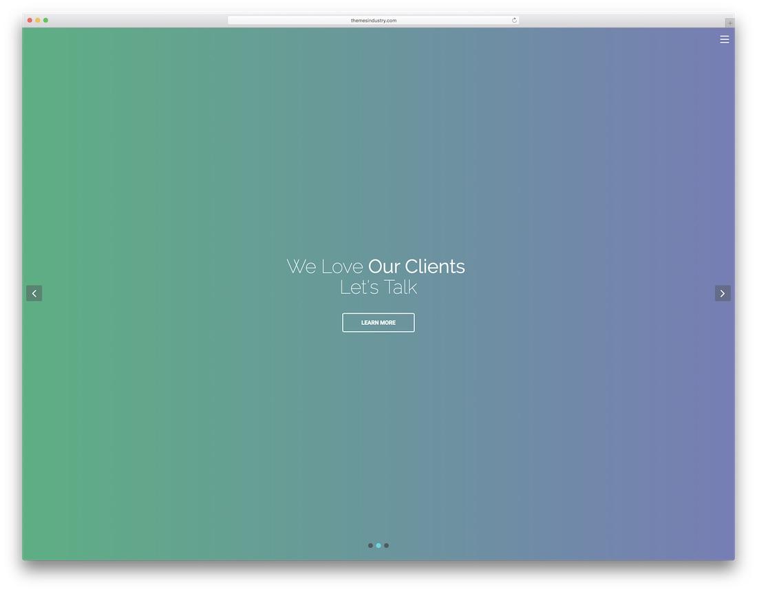 modèle de site Web de conception graphique maxo