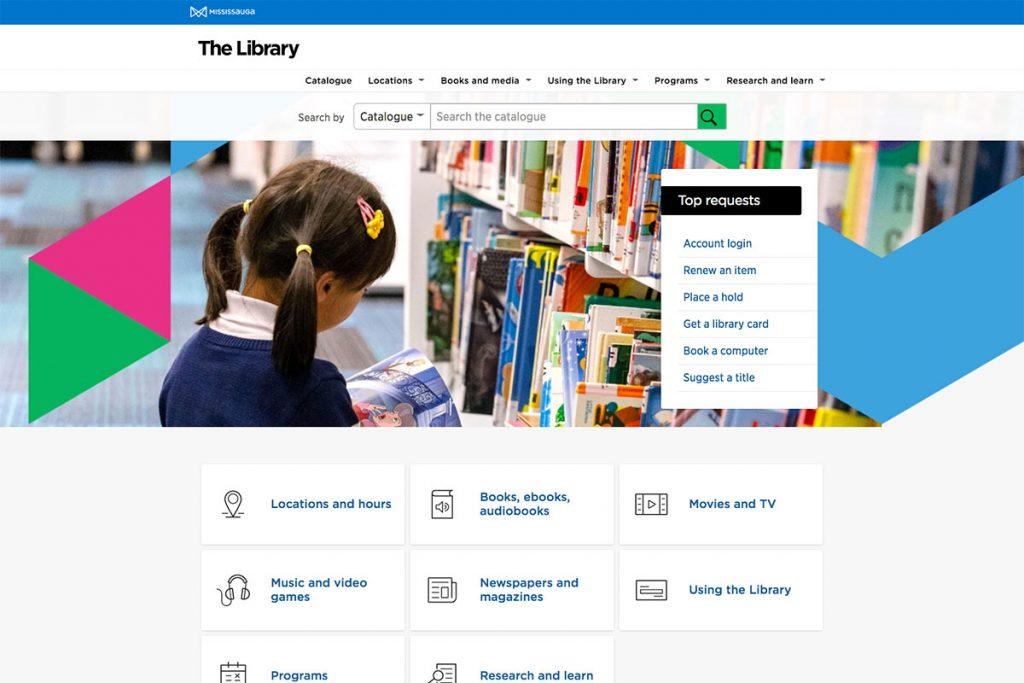 Bibliothèque de Mississauga