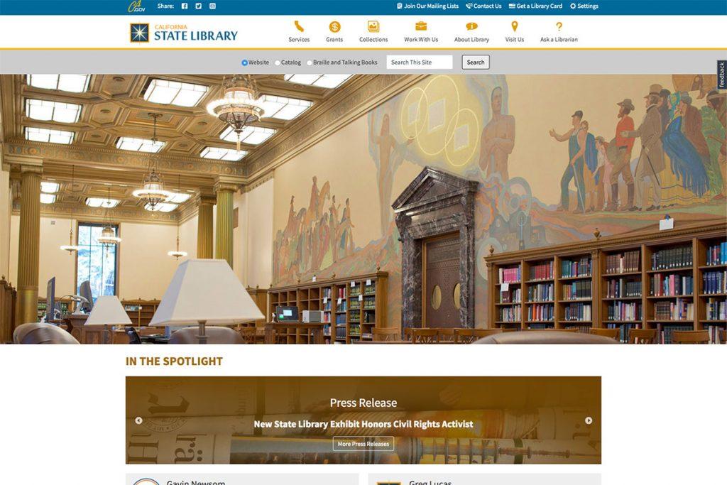 Bibliothèque d'État de Californie