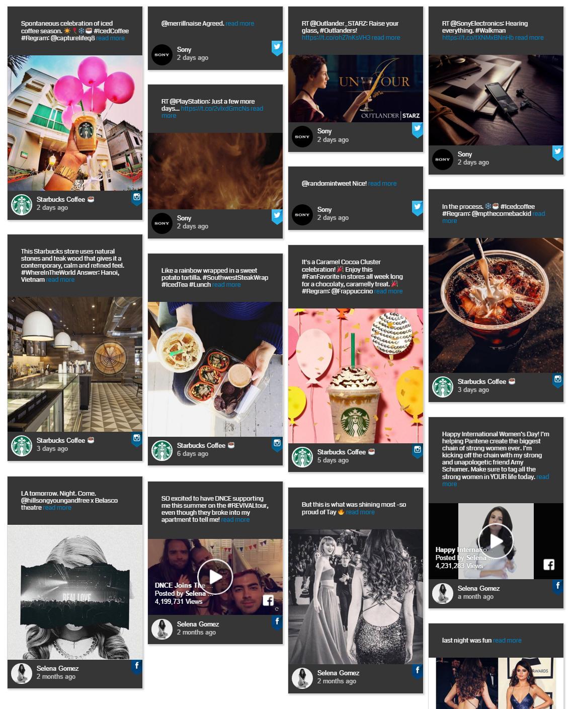 Parcourez tous vos comptes de médias sociaux en utilisant ce plugin!
