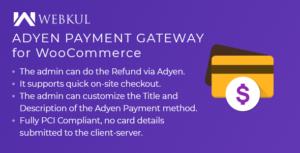Adyen Payment Gateway for WooCommerce
