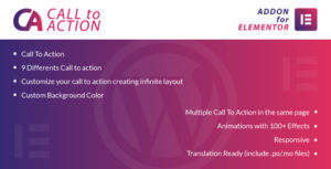 Call To Action for Elementor WordPress Plugin