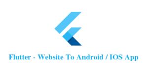 Flutter- Universal - Full Multi-Purpose Android / ios App