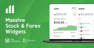 Massive Stock Market & Forex Widgets