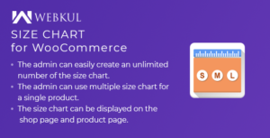 Product Size chart Plugin for WooCommerce