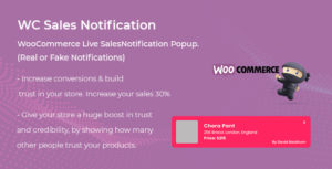 WooCommerce Live Sales Notification Pro
