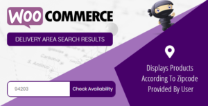 WooCommerce Products by Delivery Area