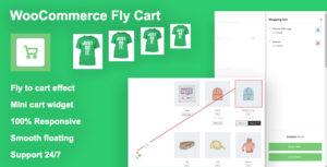 Woocommerce Fly Cart