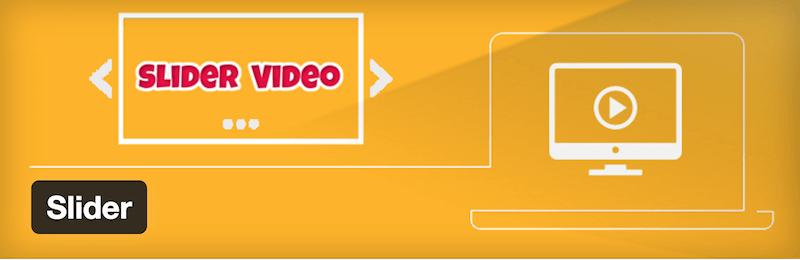 Vidéo Slider