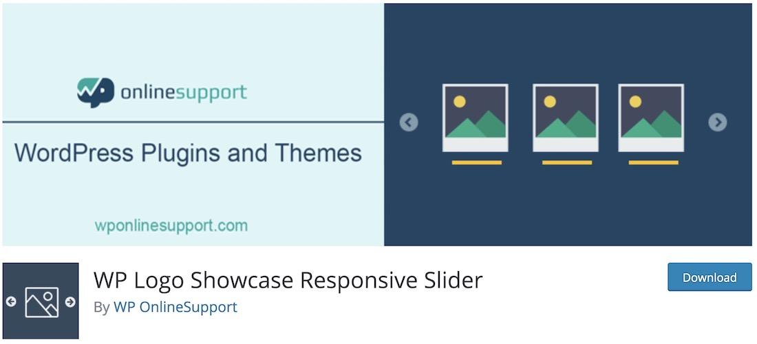 wp logo showcase responsive slider plugin wordpress gratuit
