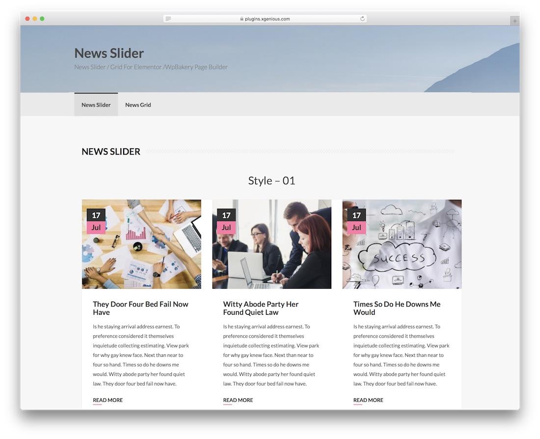 plugin wordpress slider
