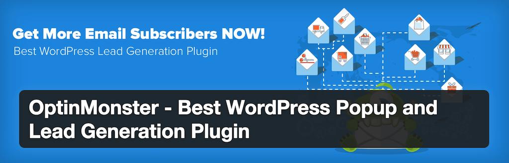 OptinMonster Meilleur plugin WordPress Popup et génération de leads Plugins WordPress