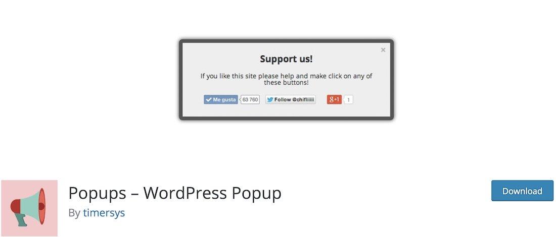 plugin popups wordpress