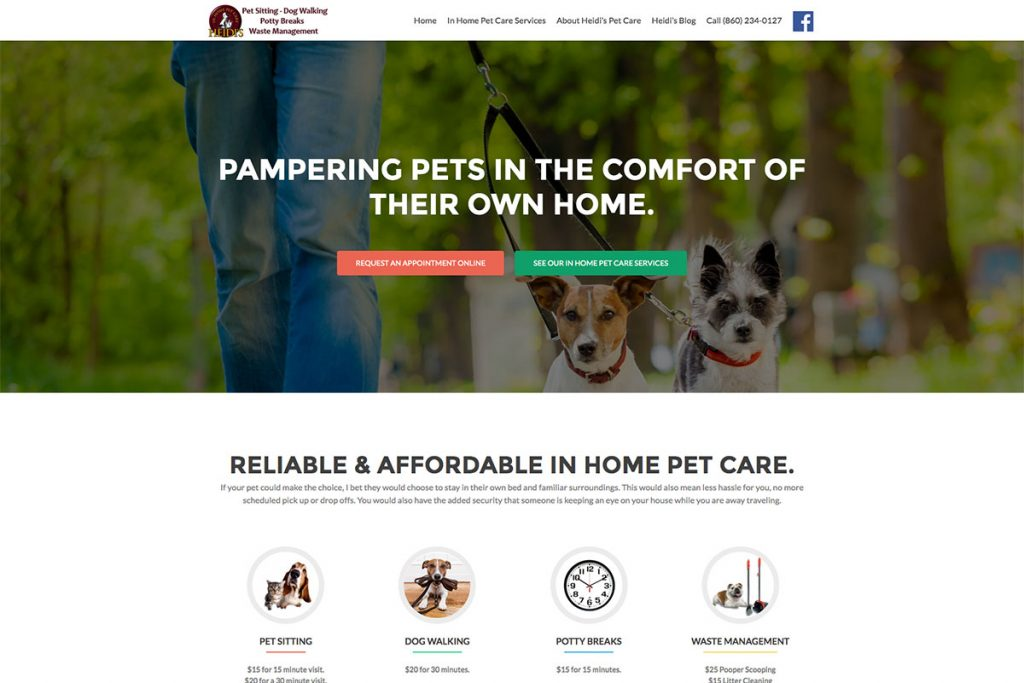Heidi's Pet Care