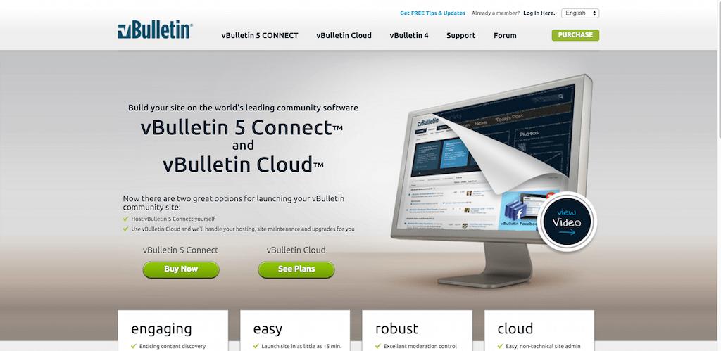 vBulletin 5 Connectez le meilleur logiciel communautaire au monde