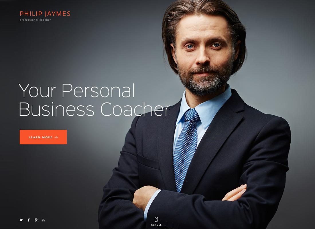 PJ   Thème WordPress pour le coaching et la vie professionnelle