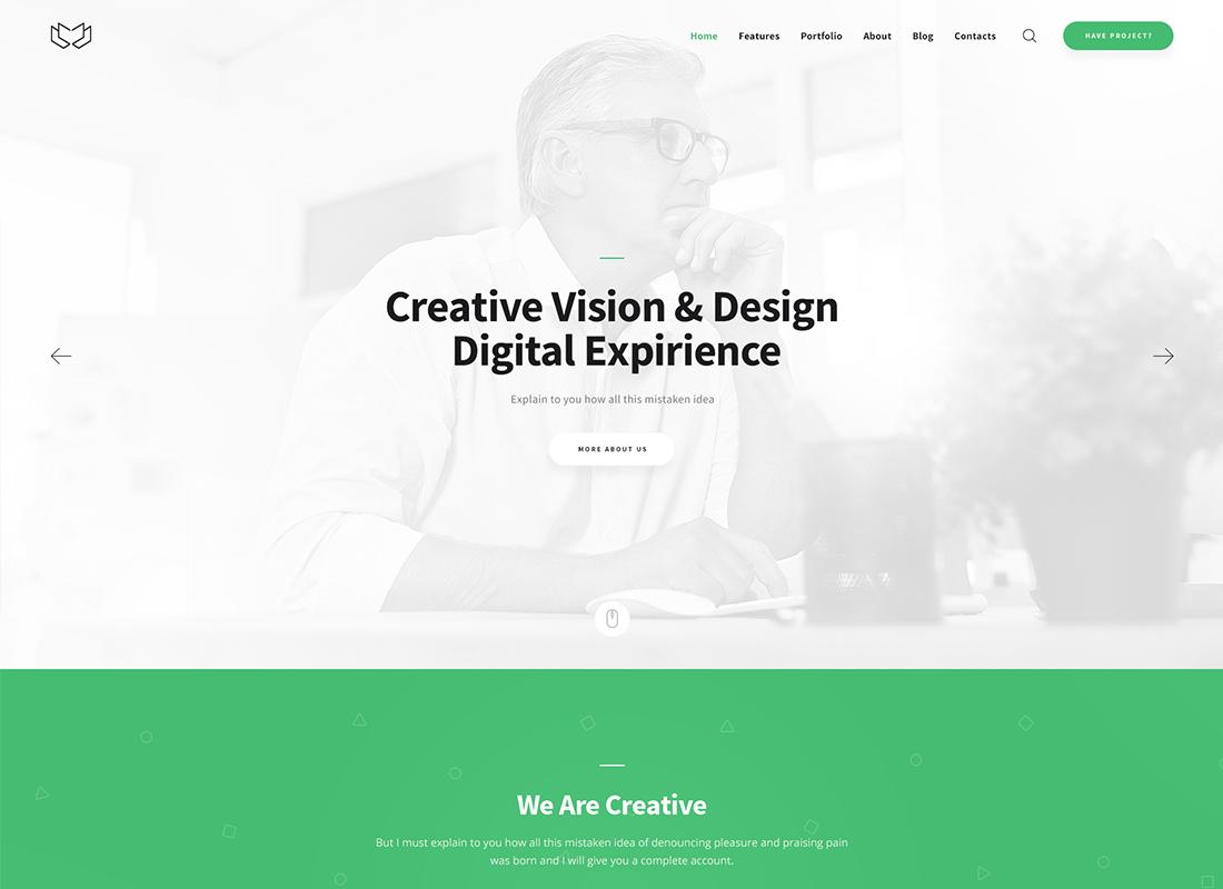 Deviox   Un thème WordPress polyvalent à la mode pour les entreprises