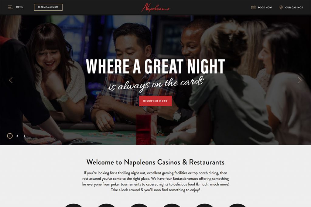 Casinos et restaurants Napoléon