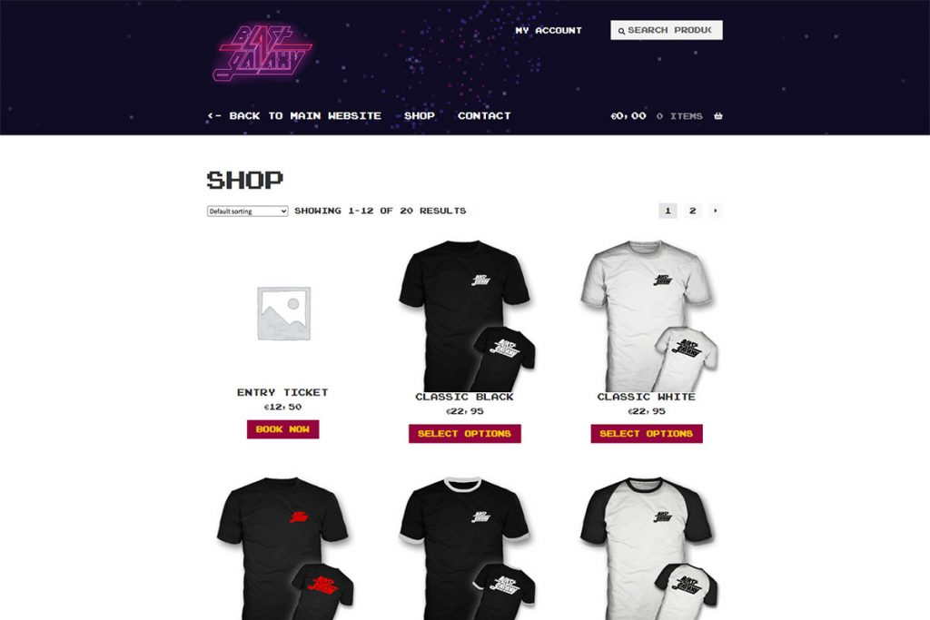 Blast Galaxy Store