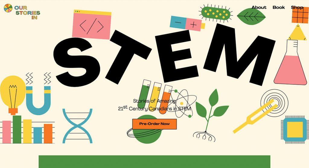 Nos histoires en STEM