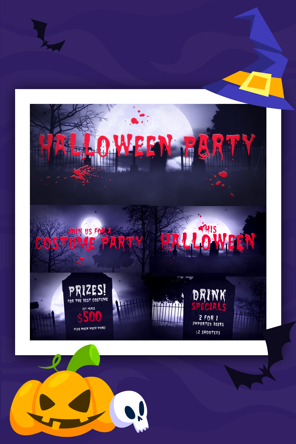 Halloween Party After Effects Intro