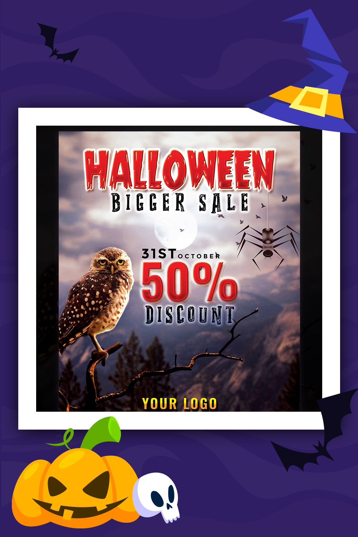 Modèle d'identité d'entreprise Halloween Flyer plus grande vente