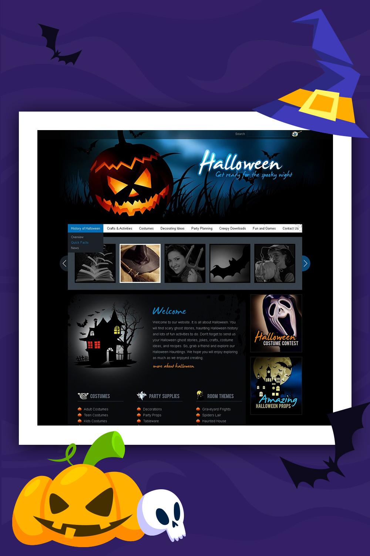 Modèle PSD Halloween