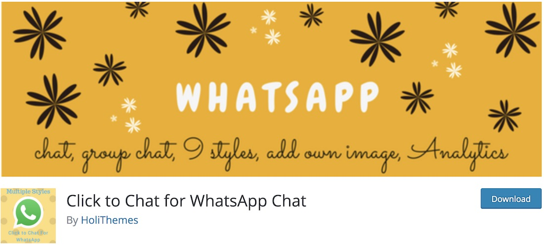 cliquer pour discuter de WhatsApp