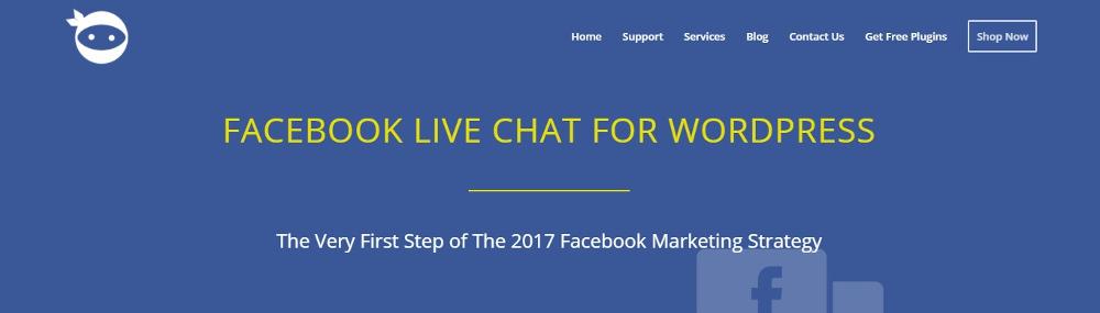 Facebook Live Chat Plugin For WordPress