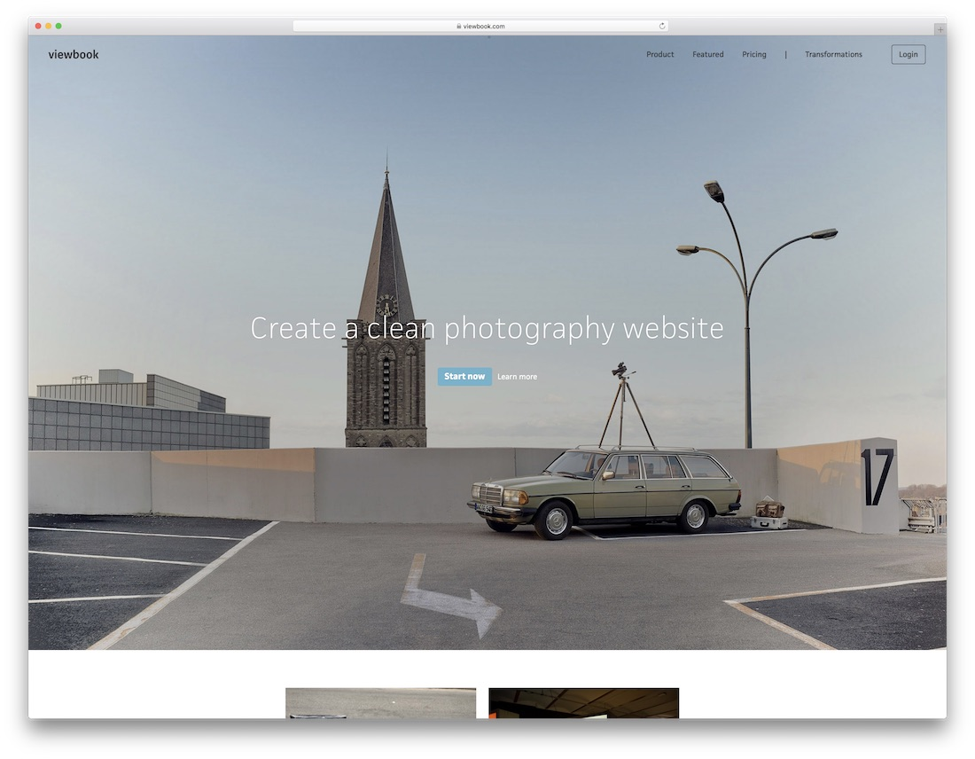 viewbook meilleur constructeur de site Web pour artistes
