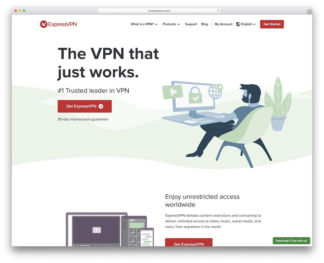 service vpn expressvpn