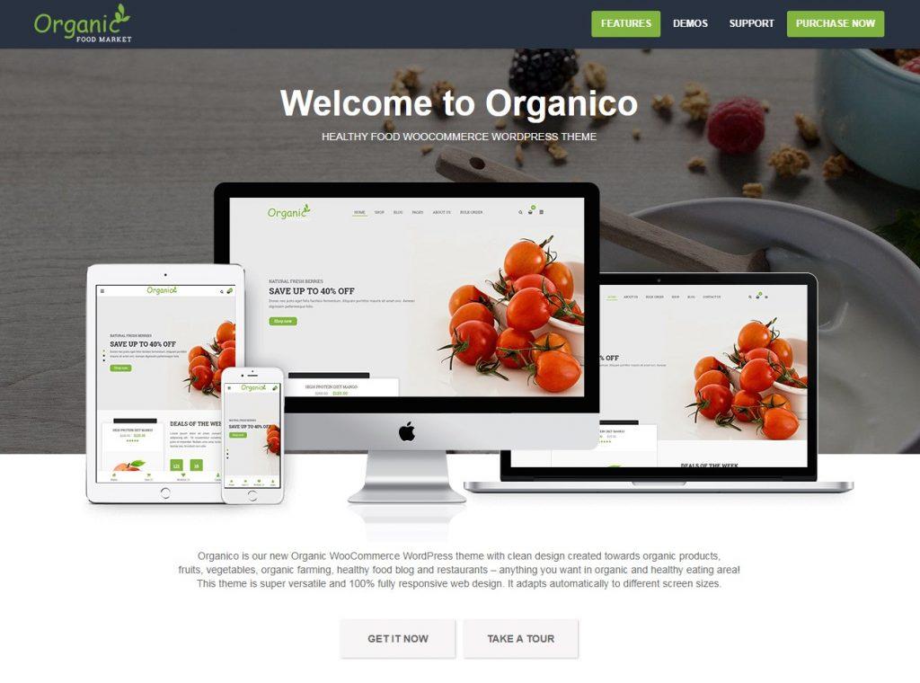 marché des aliments biologiques