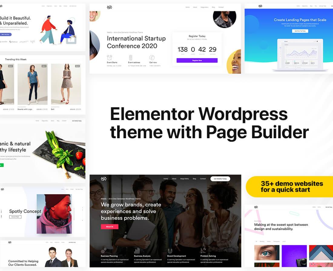 Thème WordPress marketing personnalisable