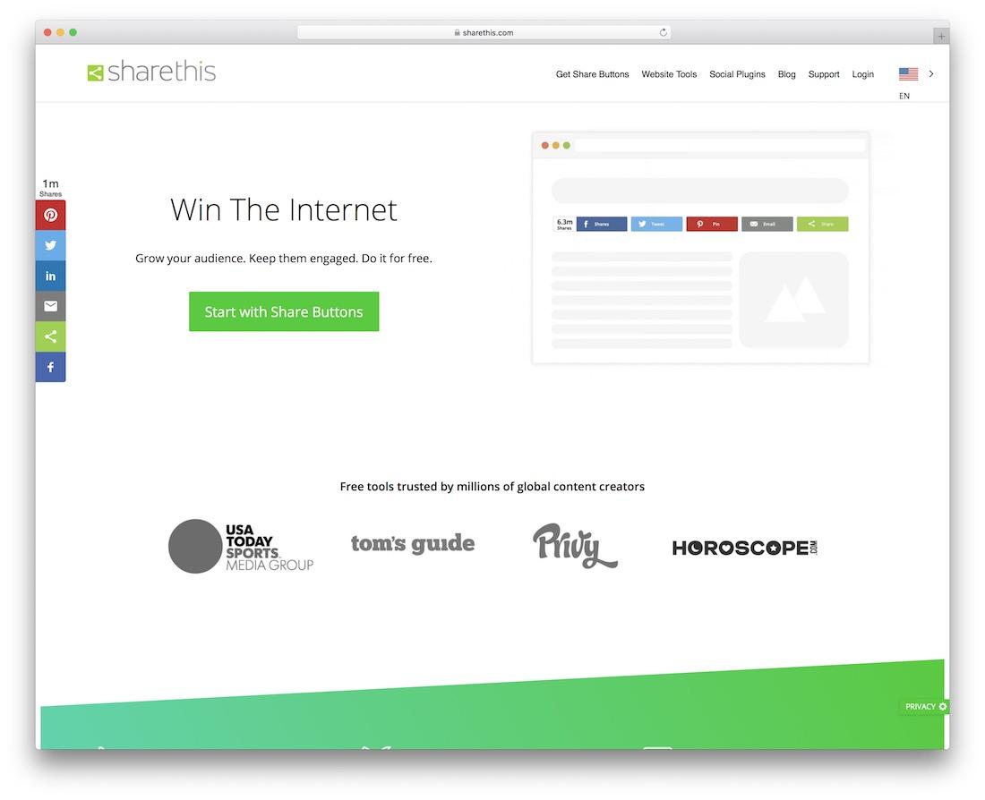 partager ce widget de bouton de partage social