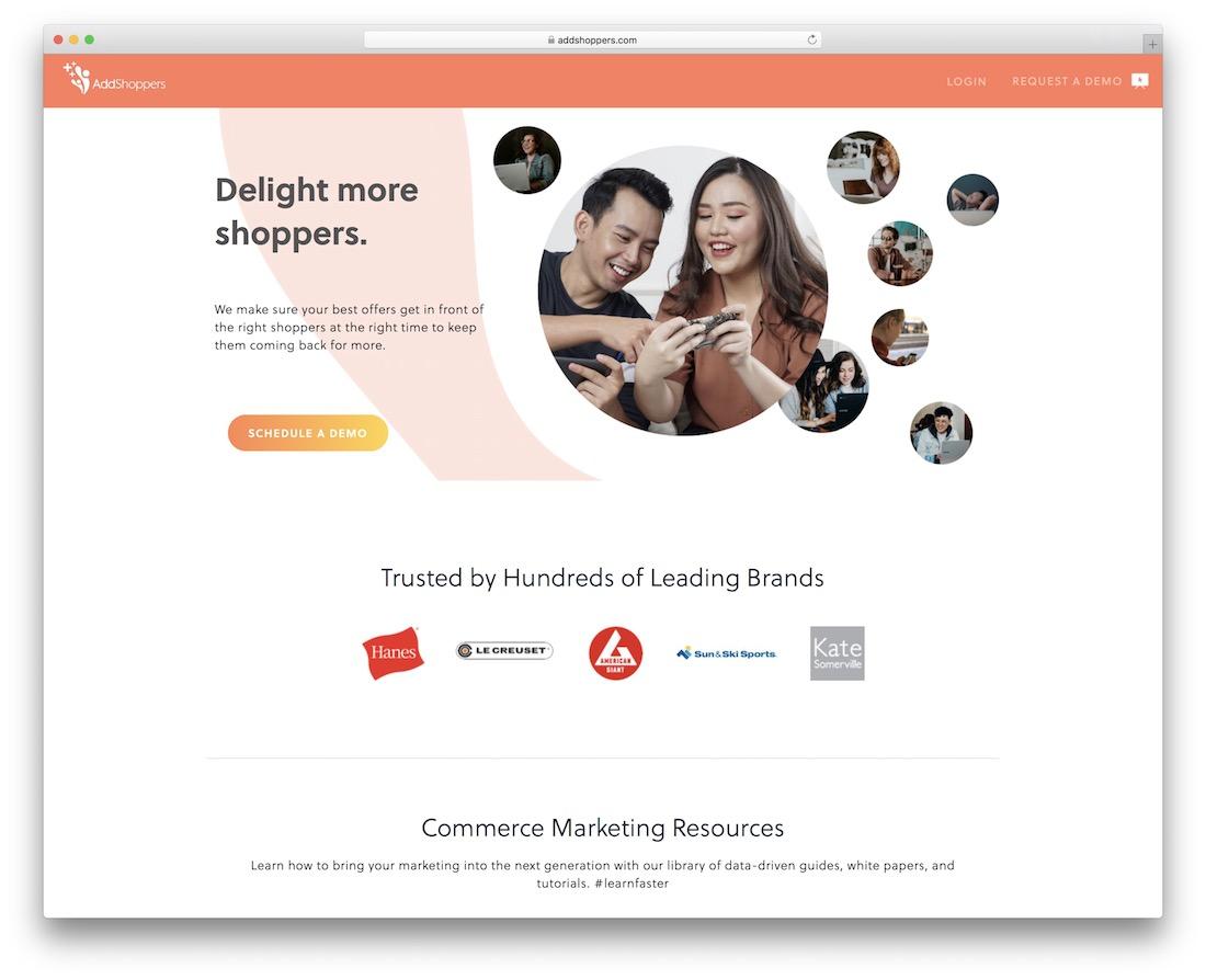 addshoppers e-commerce partage social et marketing
