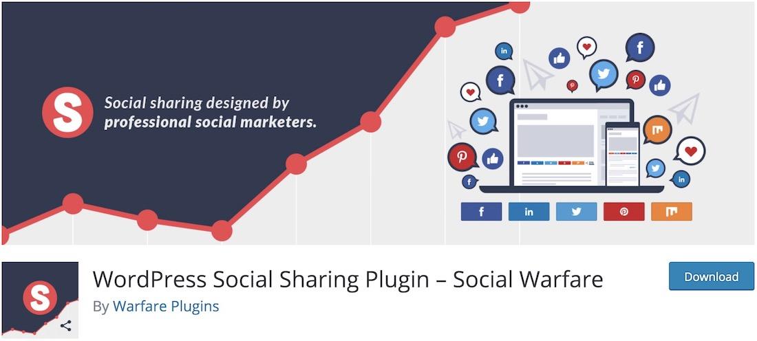 widget de partage social gratuit de guerre sociale