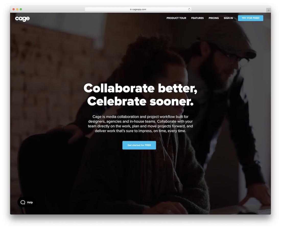outil de productivité collaboratif cageapp