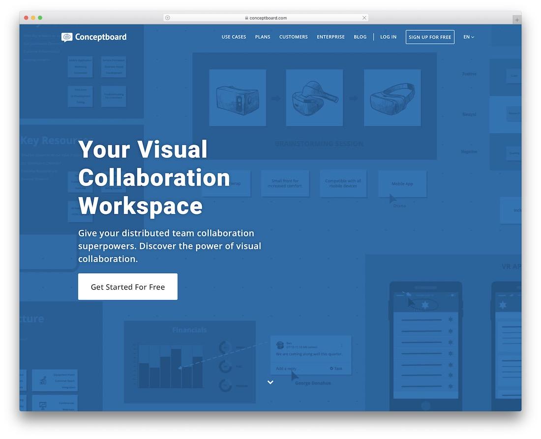 outil de productivité conceptboard
