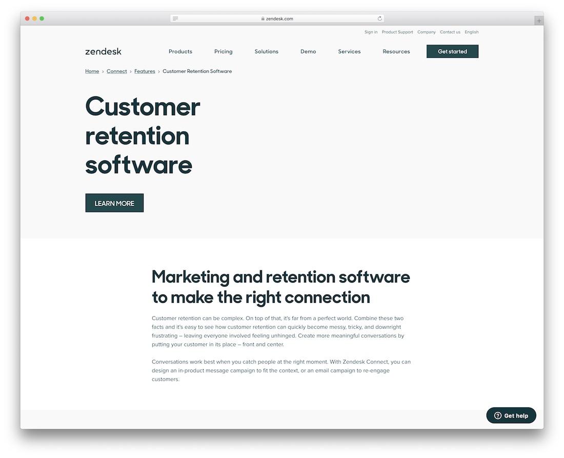 logiciel de fidélisation des clients zendesk