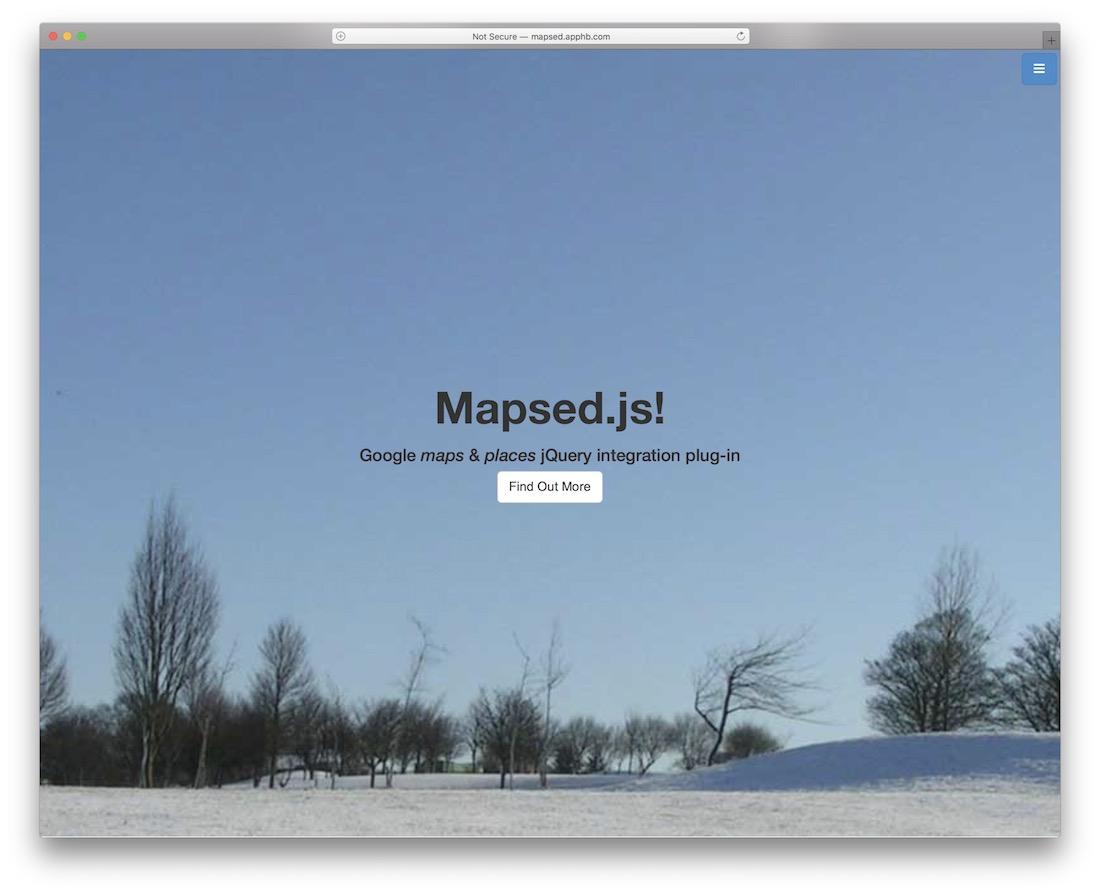 plugin de carte cartographique