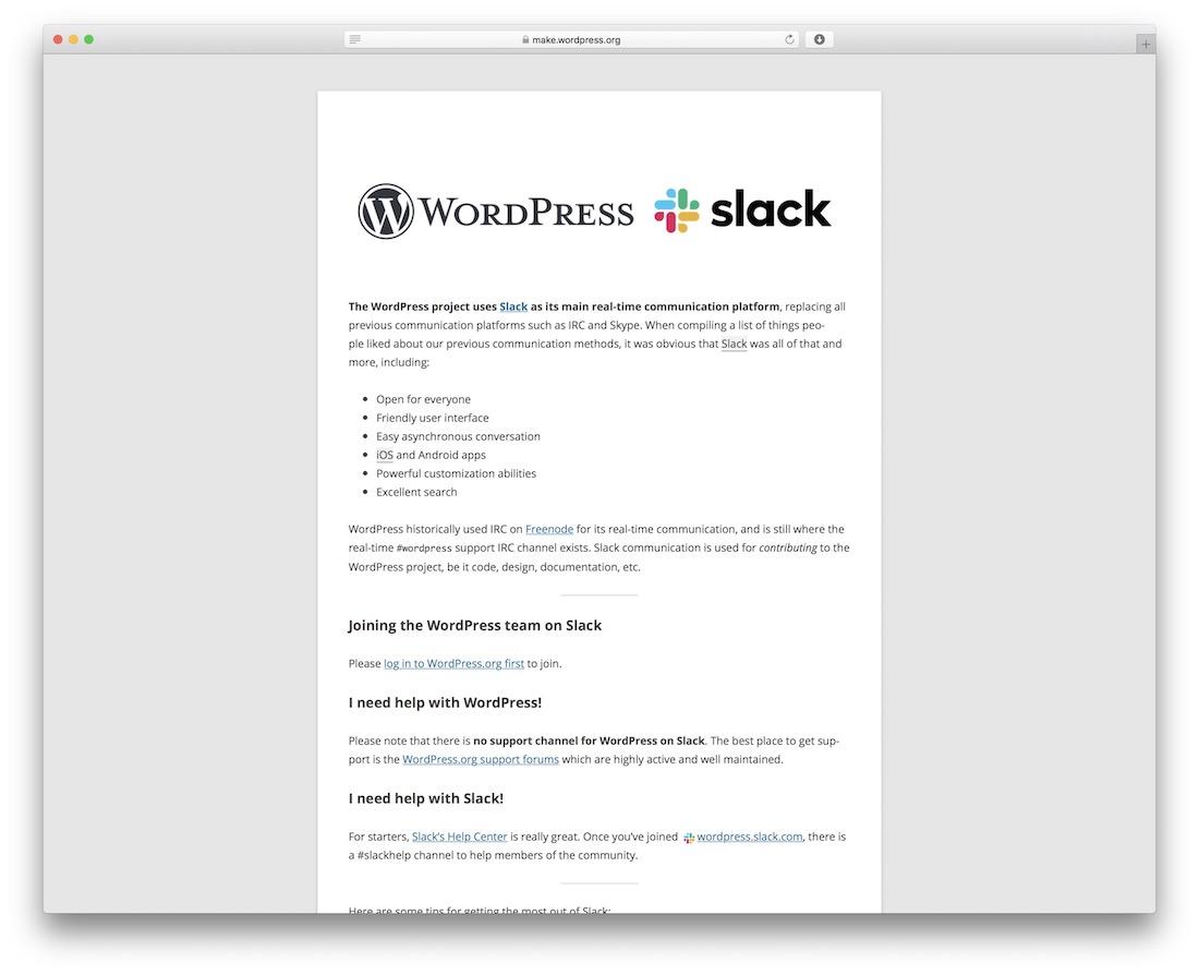 wordpress relâche