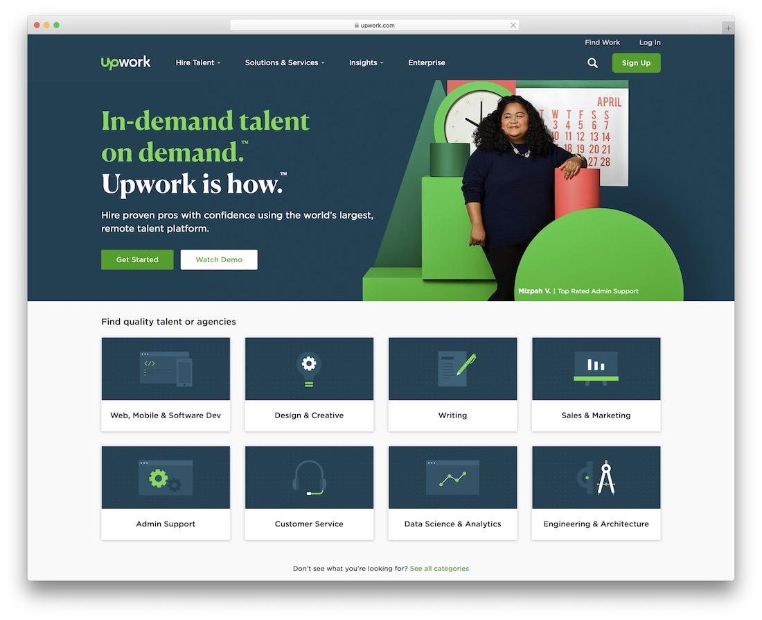 marché freelance upwork