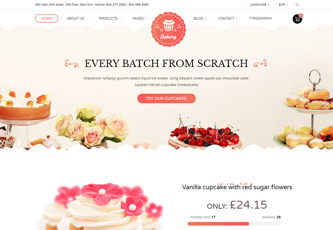 Boulangerie - WordPress