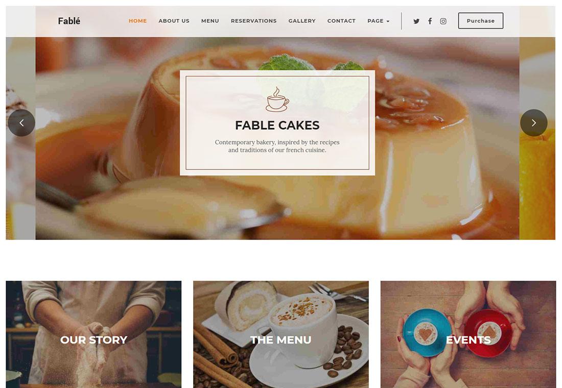 Fable - WordPress