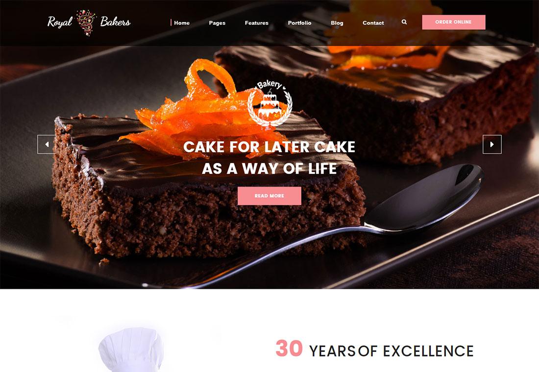 Boulangerie royale - HTML5